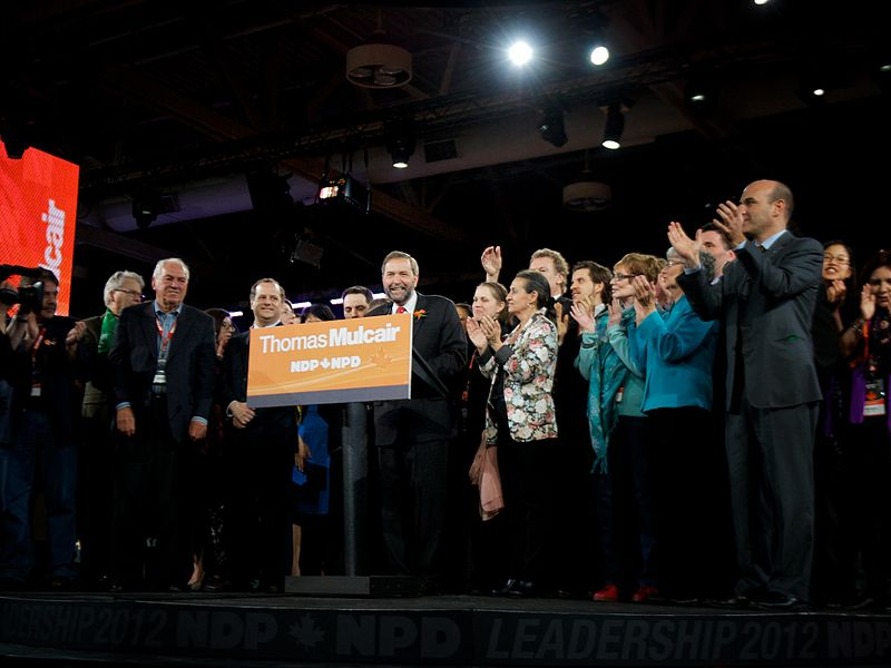 Thank You Thomas Mulcair, But it WasTime…